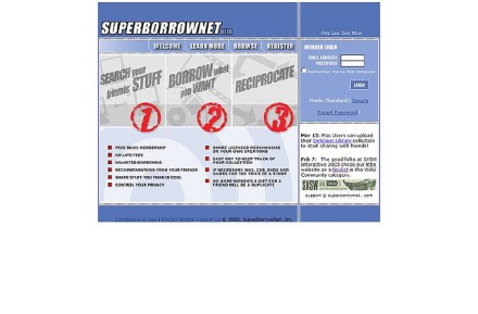 SuperBorrowNet